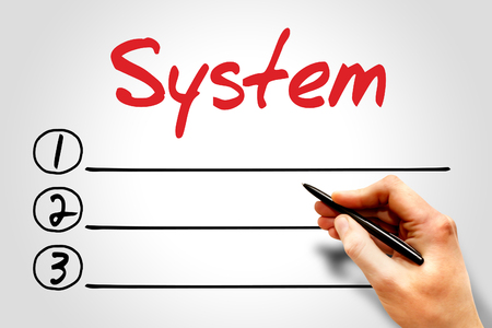 os: System blank list, security concept