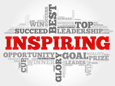 inspiring: Inspiring word cloud