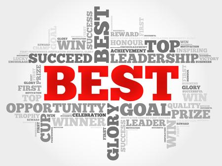 superintendent: Best word cloud Vectores