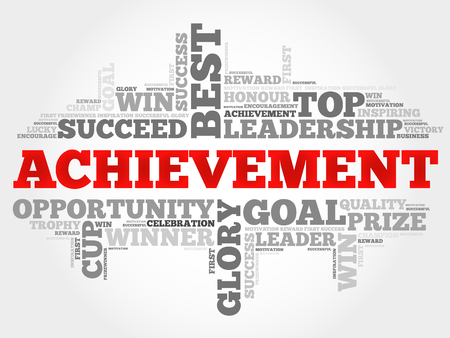 powerful creativity: Achievement word cloud