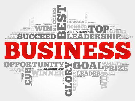 teaming: Business word cloud