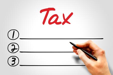 enforced: Tax blank list