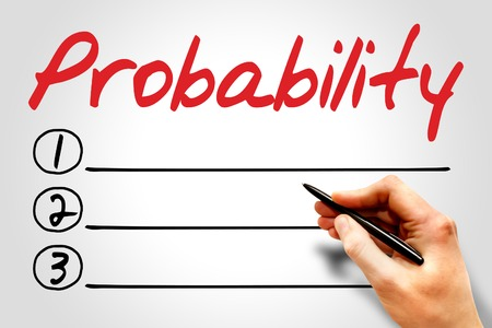 probability: Probability blank list