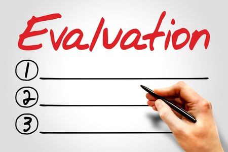 formative: Evaluation blank list