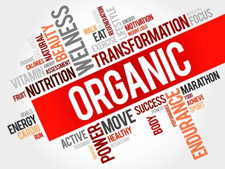 increase fruit: Organic word cloud