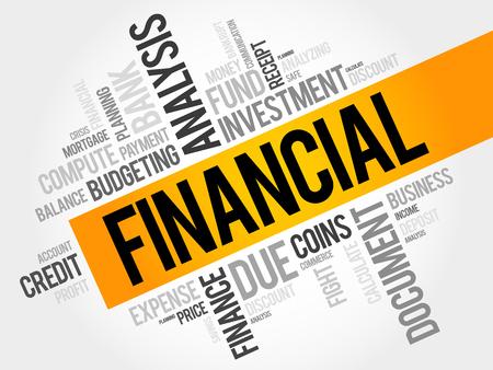 refinancing interest rates: FINANCIAL word cloud, business concept