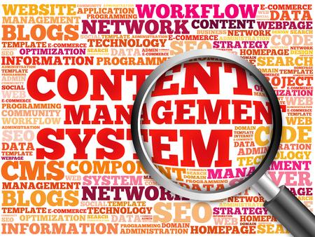 management system: CMS Content Management System