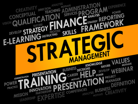 stakeholder: Strategic Management word cloud, business concept