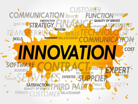catalyst: Word cloud of INNOVATION related items