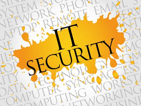 spyware: IT Security word cloud concept