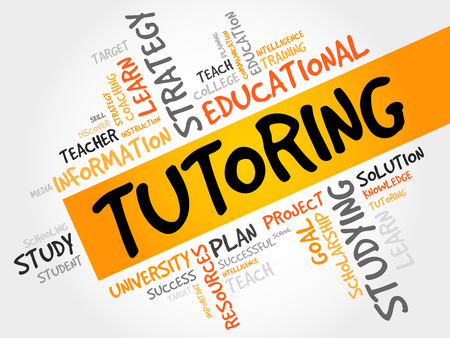 indoctrination: TUTORING word cloud, education concept