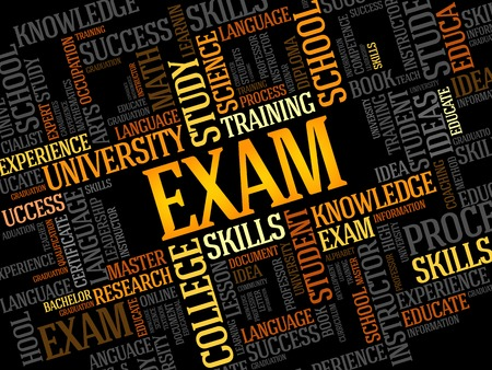 ability to speak: EXAM. Word education collage