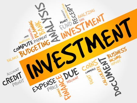 obligation: INVESTMENT word cloud, business concept