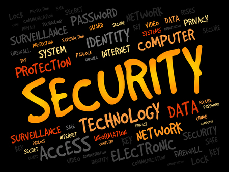 trojanhorse: SECURITY word cloud, business concept