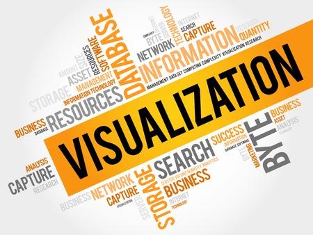 Visualisation nuage de mot, concept d'entreprise
