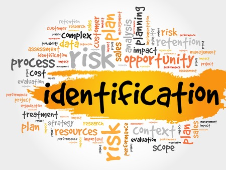 personal identification number: Word Cloud with Identification related tags business concept