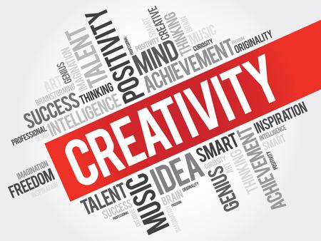 ingenuity: Creativity word cloud concept