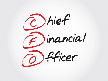 filings: CFO - Chief Financial Officer, acronym business concept