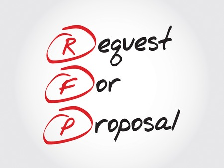smart goals: RFP - Request For Proposal, acronym business concept