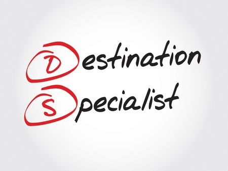 specialist: DS - Destination Specialist, acronym business concept