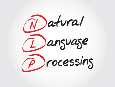 linguistics: NLP Natural Language Processing, acronym business concept