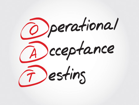 applicant: OAT Operational Acceptance Testing, acronym business concept