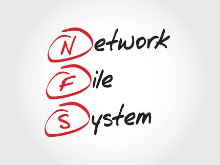 decode: NFS Network File System, acronym concept