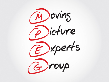 acronym: MPEG Moving Picture Experts Group, acronym concept
