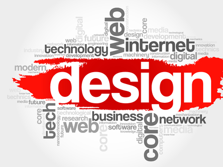 cloud tag: Design word cloud, business concept