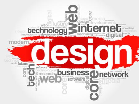 dynamic html: Design word cloud, business concept