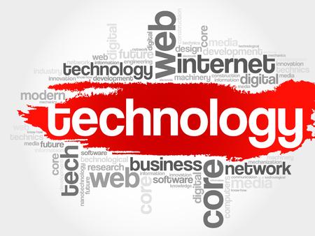 e reader: Technology word cloud, business concept