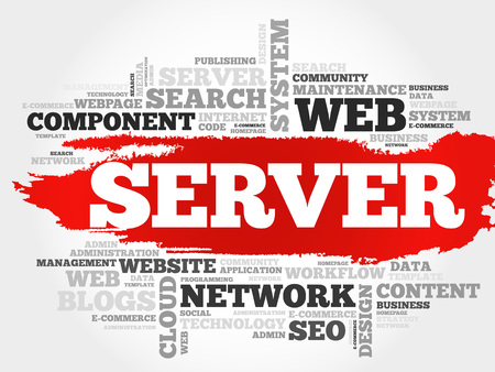 sql: Server word cloud concept