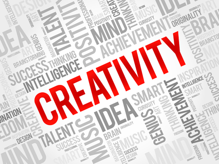 smart goals: Creativity word cloud concept