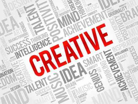 originality: Creative word cloud, business concept