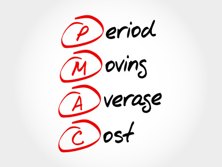 the period: PMAC - Period Moving Average Cost, acronym business concept
