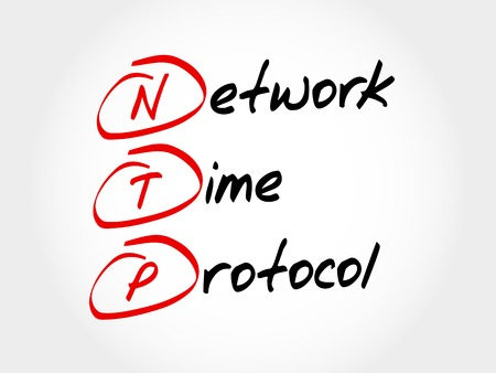 latency: NTP - Network Time Protocol, acronym business concept
