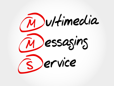 mms: MMS - Multimedia Messaging Service, acronym business concept