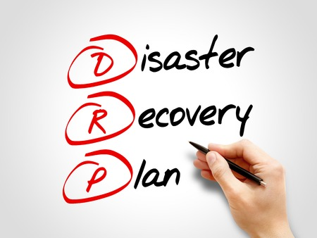 drp: DRP - Disaster Recovery Plan, acronym business concept Stock Photo