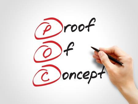 verifying: POC - Proof of Concept, acronym business concept
