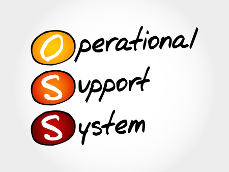 operational: OSS - Operational support system, acronym business concept