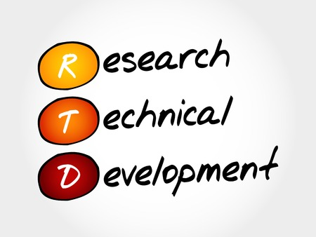 technical department: RTD - Research Technical Development, acronym business concept
