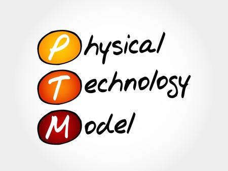 transmit: PTM - Physical Technology Model, acronym concept