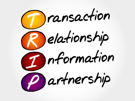 acronym: TRIP - Transaction, Relationship, Information, Partnership, acronym business concept