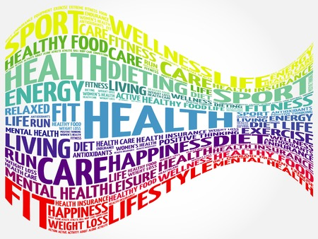 surgery costs: Health word cloud background, health concept