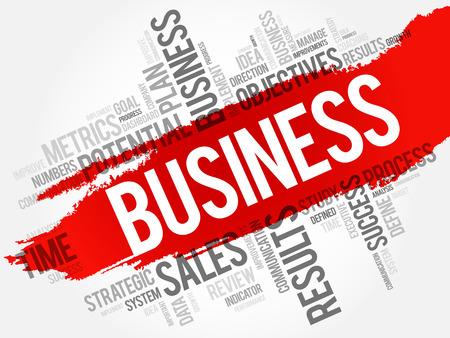 business word: Business word cloud, business concept background