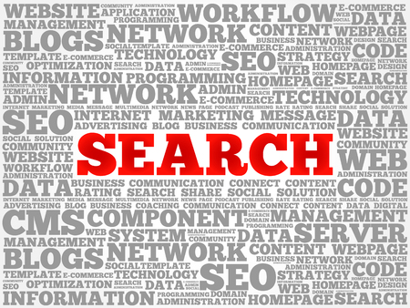 relevance: SEARCH word cloud, business concept