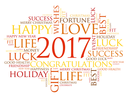 2017 year greeting word cloud collage happy new year celebration 2017 year greeting word cloud collage happy new year celebration greeting card vector m4hsunfo Image collections