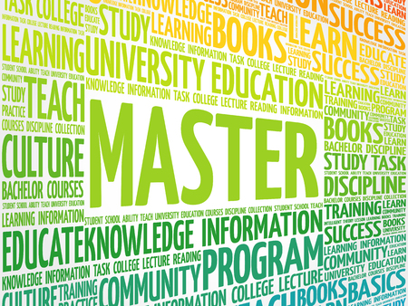 truthfulness: Master word cloud, education concept