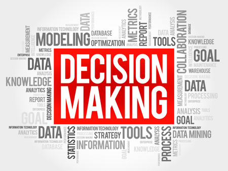 prioritization: Decision Making word cloud, business concept