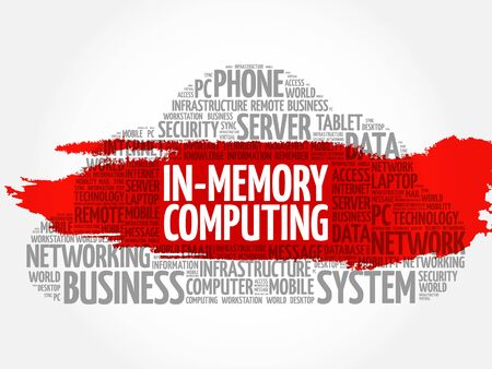 compute: In-Memory Computing word cloud concept